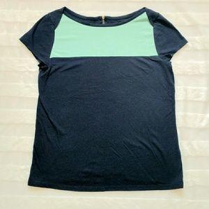 Merona Color block tee sheer size XL